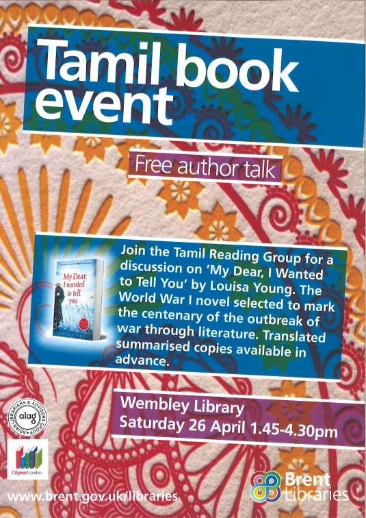 Brent Cityread Tamil flyer 240314