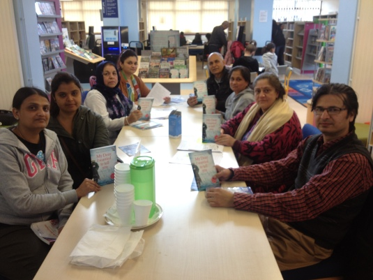Ealing Road Library customers take part in Cityread 2014