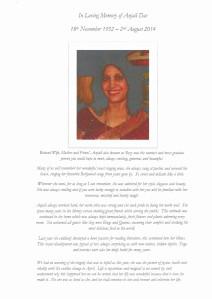 Anjali tribute