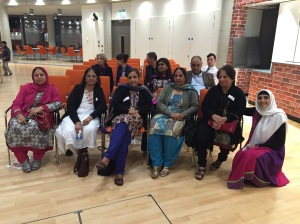 ALAG members enjoy an evening of poetry