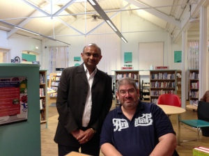 Kilburn Lib _ City read event - 20Apr2015