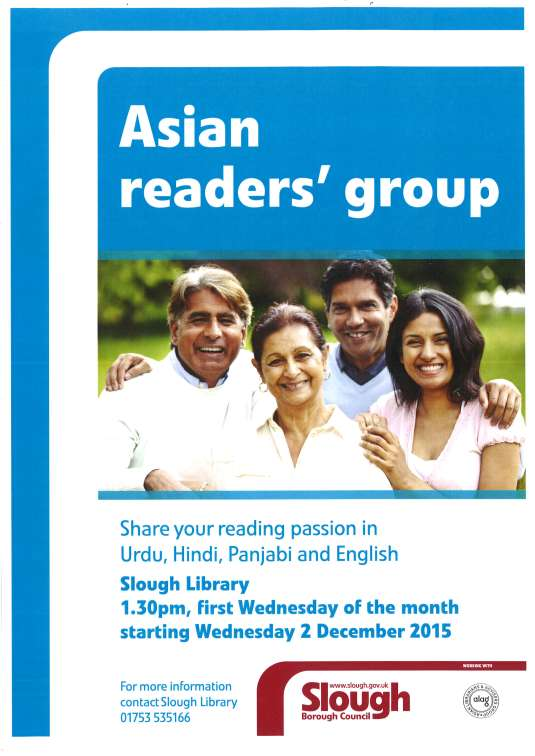 Asian Readers' Group 021215